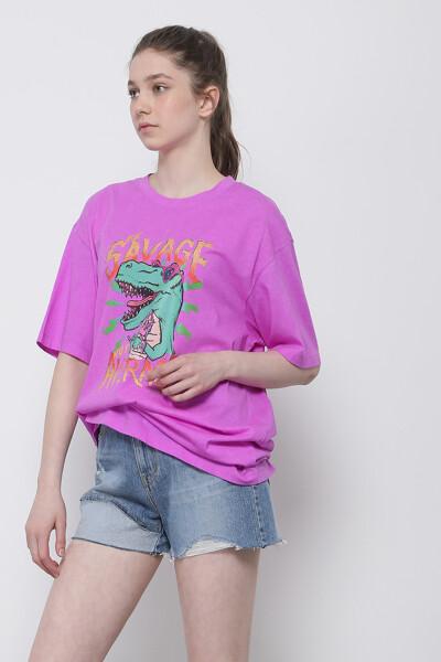 새비지 디노 티셔츠