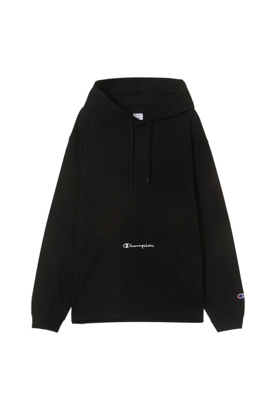 [ASIA] 후디드 롱슬리브 티셔츠 (BLACK) CKTS1E623BK