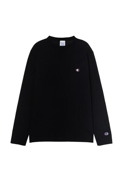 [ASIA] 롱슬리브 티셔츠 (BLACK) CKTS1E526BK