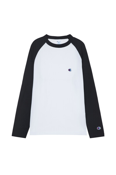 [ASIA] 롱슬리브래글런 티셔츠 (BLACK) CKTS1E528BK