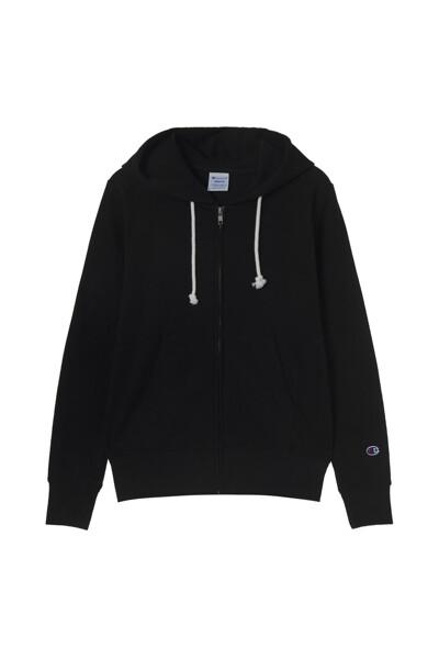[ASIA] 집업 후디드 스웨트셔츠 (BLACK) CKTS1E871BK