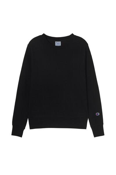 [ASIA] 크루넥 스웨트셔츠 (BLACK) CKTS1E771BK
