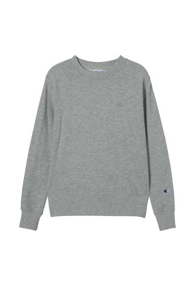 [ASIA] 크루넥 스웨트셔츠 (LIGHT GRAY) CKTS1E771G1