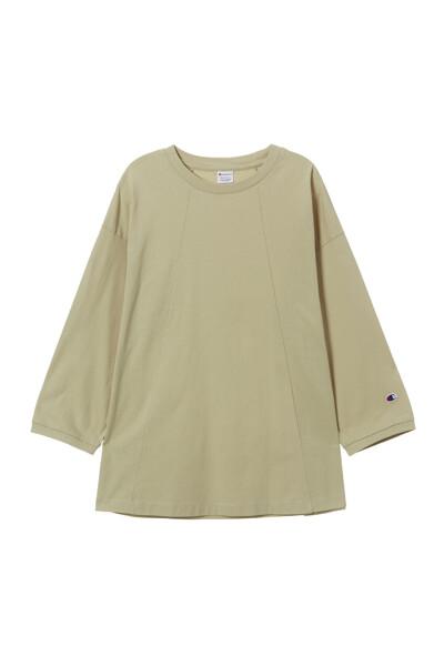 [ASIA] 롱슬리브 티셔츠 (LIGHT BEIGE) CKTS1E572I1