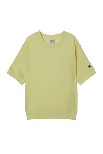 [ASIA] 쇼트슬리브 스웨트셔츠 (LIGHT GREEN) CKTS1E171E1