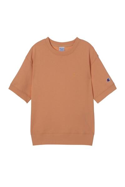 [ASIA] 쇼트슬리브 스웨트셔츠 (NORMAL ORANGE) CKTS1E171O2