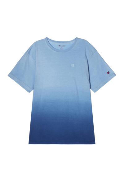 [US] 옴브레 딥 다이 반팔 티셔츠 (PALE BLUE) CKTS1E200B4