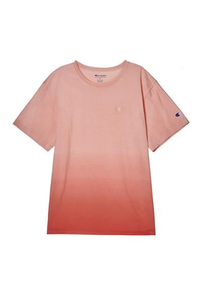 [US] 옴브레 딥 다이 반팔 티셔츠 (LIGHT ORANGE) CKTS1E200O1