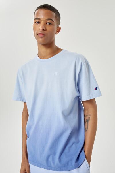 [US] 옴브레 딥 다이 반팔 티셔츠 (LIGHT PURPLE) CKTS1E200U1