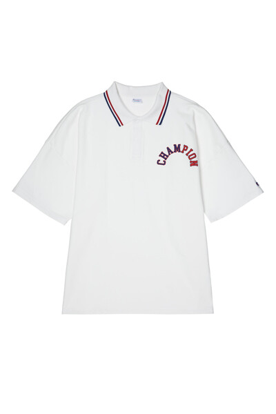 [ASIA] 쇼트슬리브 스웨트셔츠 (OFF WHITE) CKTS1E433OW