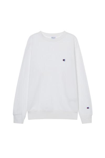 [ASIA] 크루넥 스웨트셔츠 (WHITE) CKTS1E626WT