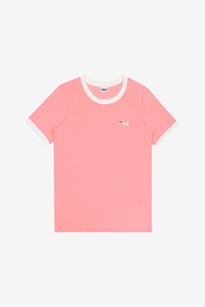 [공식] FILA 라이프웨어 여성 티셔츠 (FI4RSD2442F_BLM)