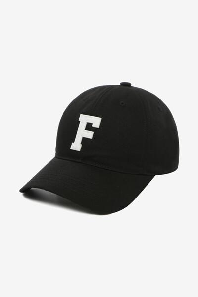 펠트 F로고 볼캡 (FS3CPD5313XBLK)