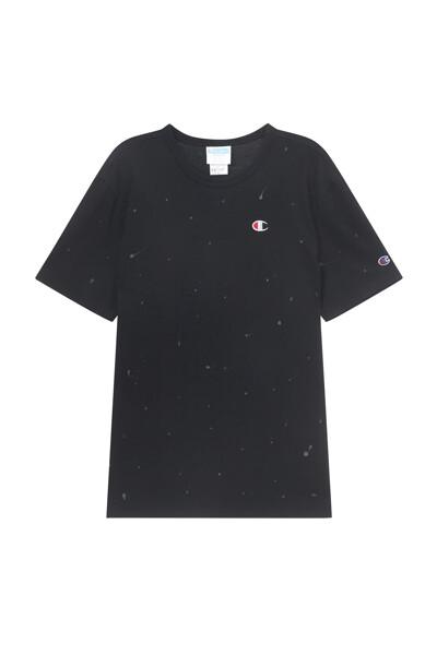 [Online Exclusive] [US] 페인트 스플래터 반팔 티셔츠 (BLACK) CKTS1E304BK