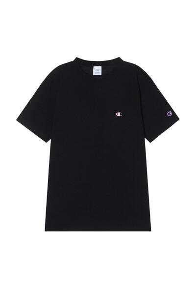 [ASIA] 쇼트슬리브 티셔츠 (BLACK) CKTS1E326BK