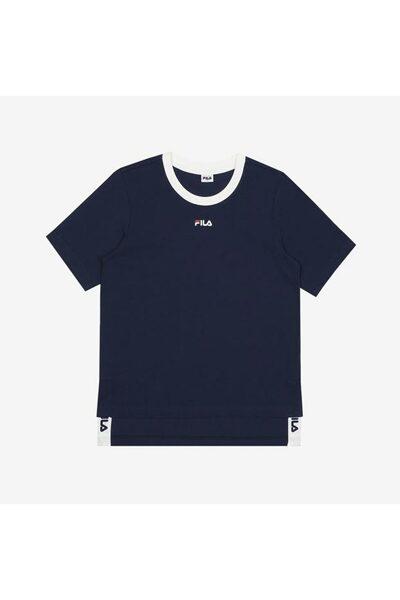 [공식] FILA 라이프웨어 면싱글 여성 티셔츠 (FI4RSD2441F_DID)