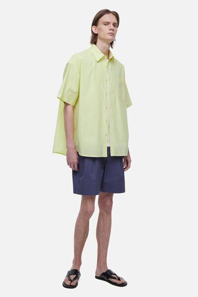 코튼 투게더 자수 셔츠
