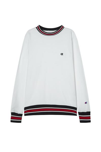 [ASIA] 크루넥 스웨트셔츠 (WHITE) CKTS1E635WT