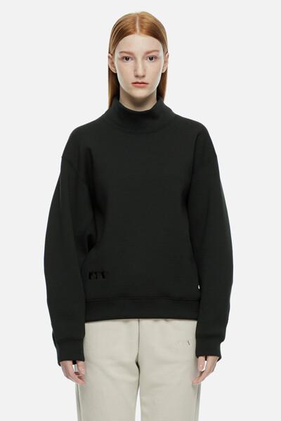 네오프렌 모크넥 티셔츠