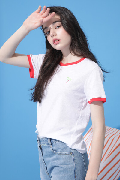 서핑 쁘띠 티셔츠
