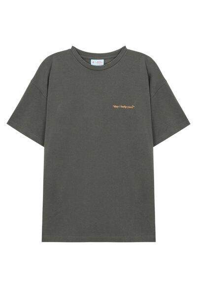 [RAUM MEN] 세리토스 콜라보 반팔 티셔츠 남녀공용 (ROTS0FCE2CG)