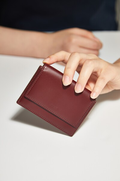 리프 카드지갑