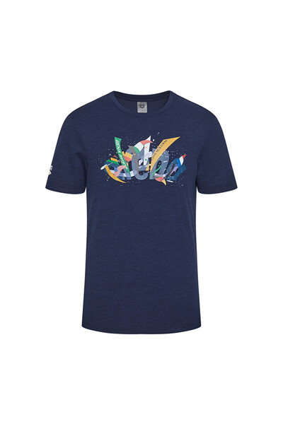 [ARENA SPORTS] 유니 면 티셔츠 S0MC1RT06NVY