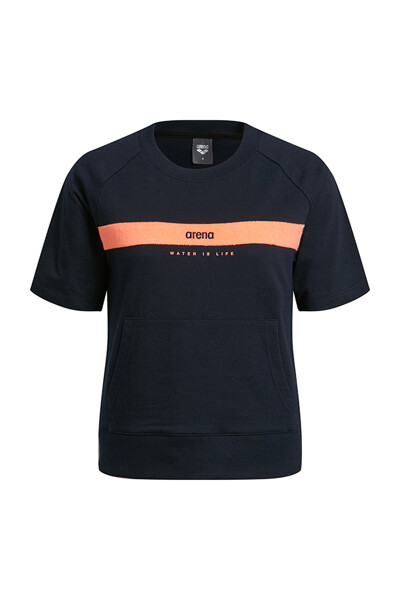 [ARENA SPORTS] RT:ROUND SHORT TEE(여)SVMRT59NVY