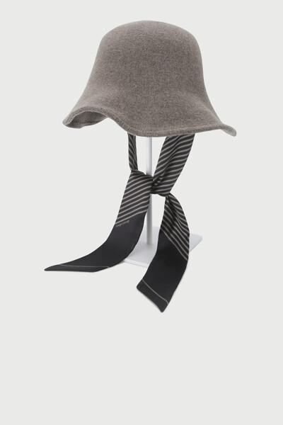 울 캐시미어 모자