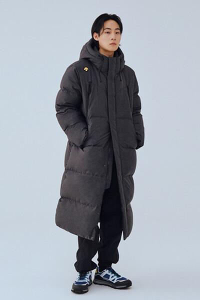 [데상트] 남녀공용 프로메이드 캐논 구스 롱다운 (SM323BDJ91)