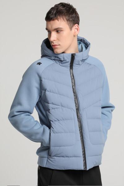 [데상트] 남녀공용 하이브리드 스웨터 플리스 자켓 (SM323RKT93)