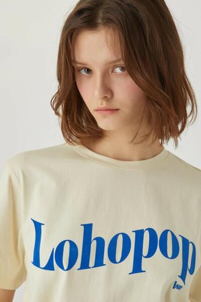 Lohopop T-shirt CUSTARD YELLOW (JYTS1B903Y1)