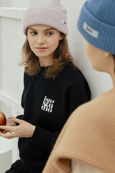 New Normal Sweatshirt BLACK (JYTS1D901BK)