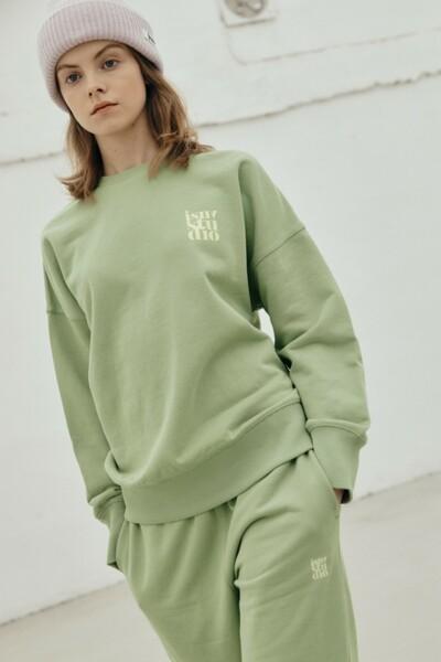New Normal Sweatshirt KHAKI (JYTS1D901K2)