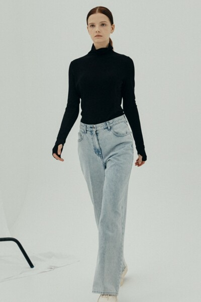 [소소 착용] Loho Jeans LIGHT BLUE (JYPA1D902B1)