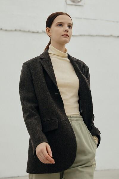 [jsny x kimmi] Chelsea Jacket DARK BROWN (JYJA1D911W3)