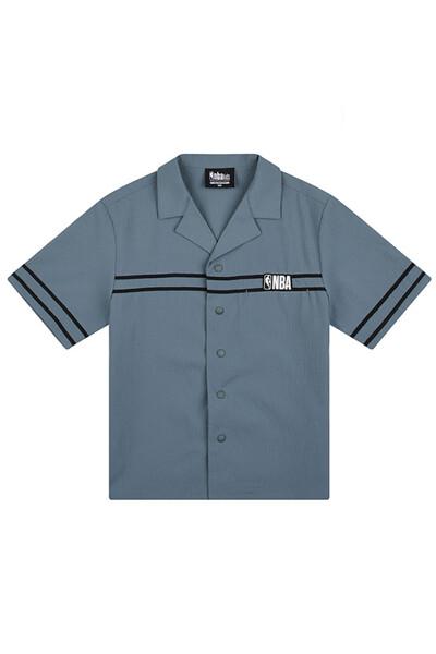 [KIDS]NBA 화섬 시어서커 아우터형 셔츠_K212SH010P