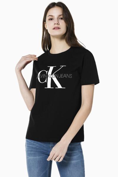 여성 스트레이트핏 모노그램 로고 반팔 티셔츠 J216394-BAE J216394BAE