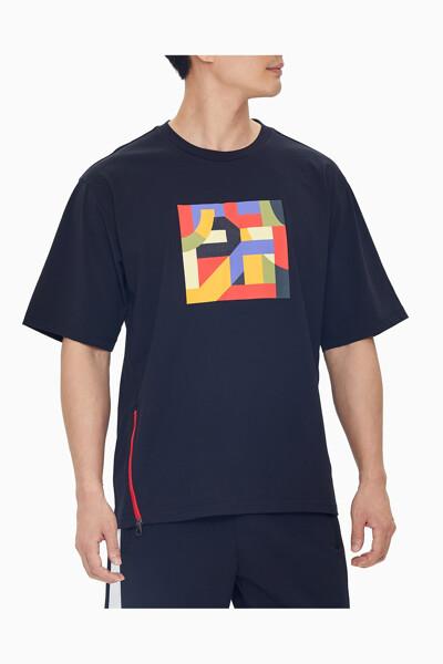 남성 씨앤와이 그래픽 반팔 티셔츠 4MS1K148-007 4MS1K148007