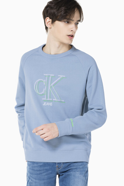 남성 일루미네이트 CK 로고 스웨트셔츠 J317051-CE2 J317051CE2