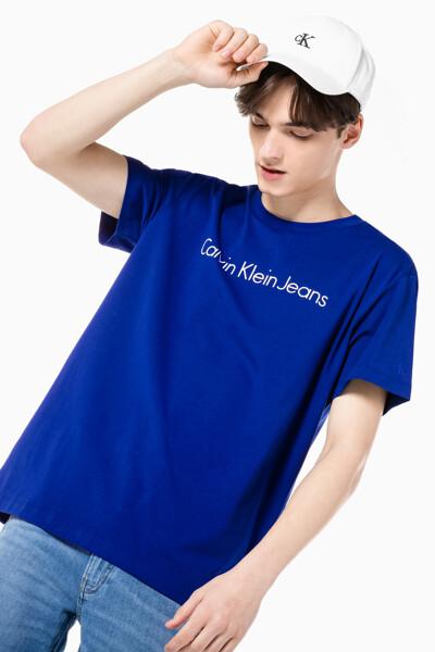 남성 인스티튜셔널 젤 로고 프린트 반팔 티셔츠 J317456-CJS J317456CJS
