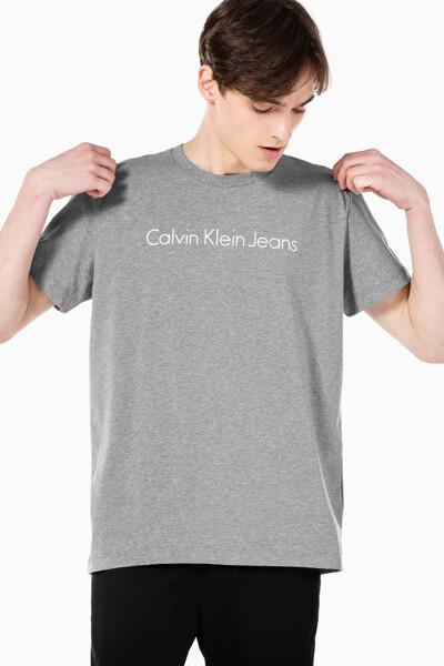 남성 인스티튜셔널 젤 로고 프린트 반팔 티셔츠 J317456-P2D J317456P2D