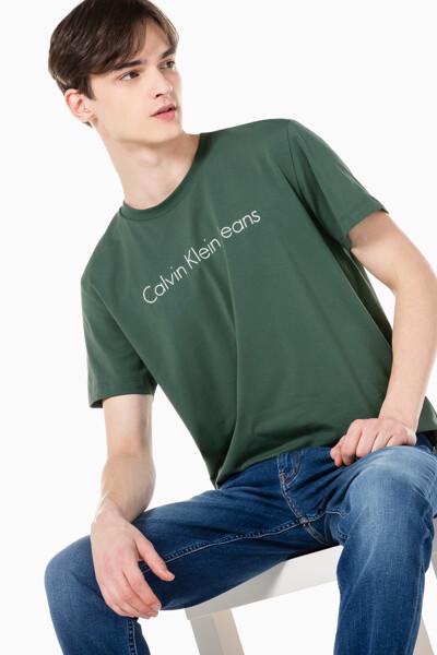 남성 인스티튜셔널 젤 로고 프린트 반팔 티셔츠 J317456-LDT J317456LDT