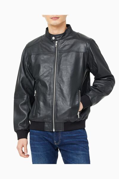 남성 캐주얼 레더 재킷 J317339-BEH J317339BEH