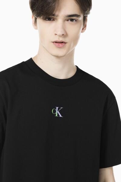 남성 컬러 디그레이딩 백 로고 티셔츠 J317356-BEH J317356BEH