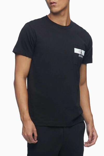 남성 레귤러핏 CK 포켓 반팔 티셔츠 J317671-BEH J317671BEH