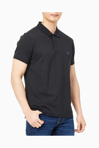 남성 슬림핏 모노그램 로고 폴로 반팔 티셔츠 J318111-BEH J318111BEH