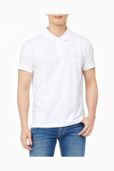 남성 슬림핏 모노그램 로고 폴로 반팔 티셔츠 J318111-YAF J318111YAF