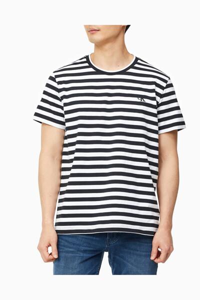 남성 시즈널 투톤 티셔츠 J318114-BEH J318114BEH