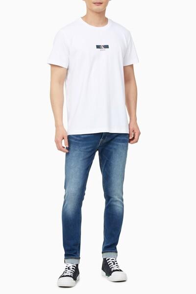 남성 이리데슨트 박스 티셔츠 J318147-YAF J318147YAF